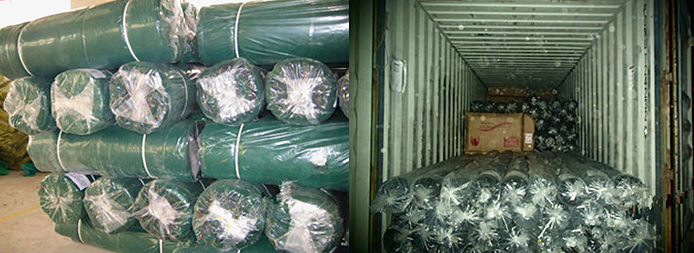 flat HDPE agricultural shading net Factory